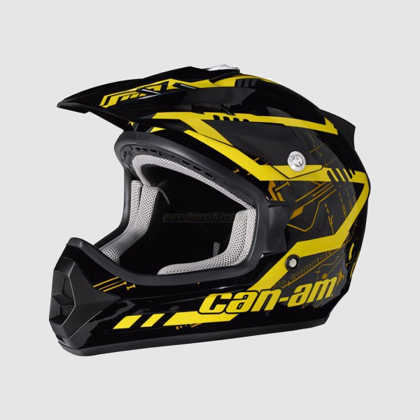 Casco can am x1 cross mission latini group for Cascos de cocina baratos